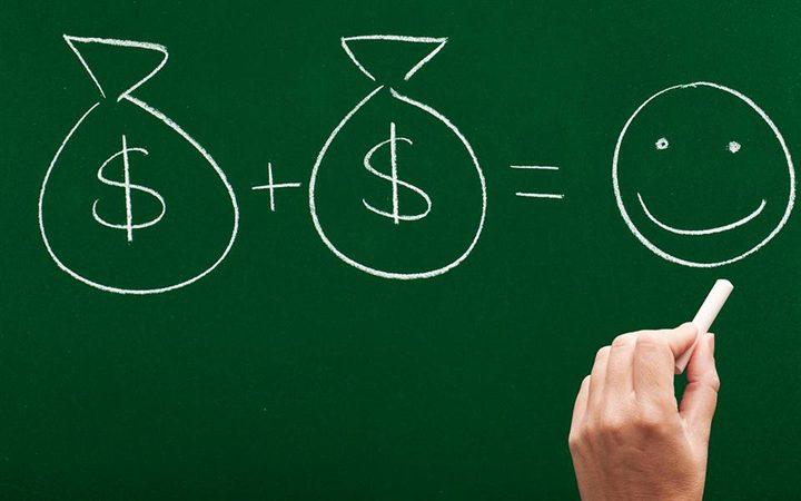 """دراسة تؤكد: """"المال يشتري السعادة"""""""