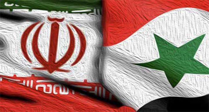 ايران وسوريا توقعان على اتفاقية للتعاون العسكري
