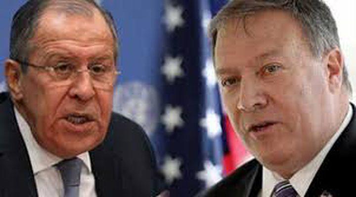 لافروف وبومبيو يبحثان الأزمات في ليبيا وسوريا وافغانستان