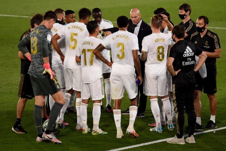 ريال مدريد خارج التشكيل المثالي لجولة الليجا