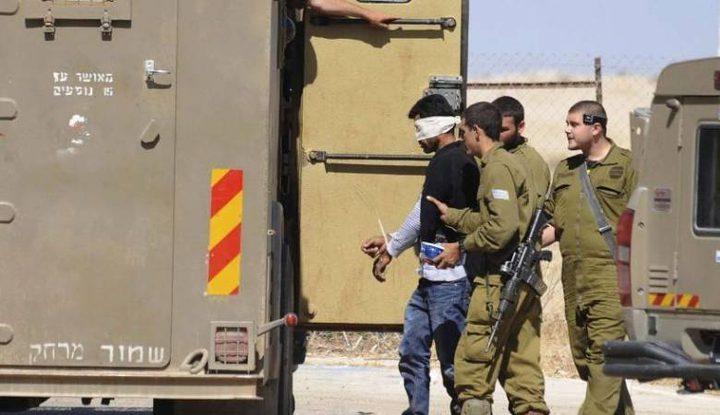 قوات الاحتلال تعتقل 11 مواطنا بينهم أسير محرر
