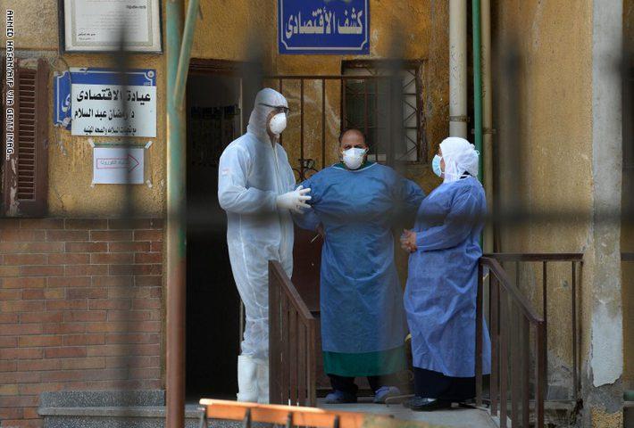 مصر تتخطى الصين في إصابات فيروس كورونا