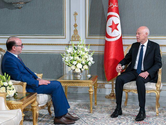 الفخاخ يقدم استقالته للرئيس التونسي قيس سعيد