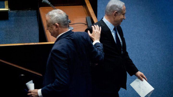 """نتنياهو وغانتس يتبادلان الاتهامات بسبب """"أزمة كورونا"""""""
