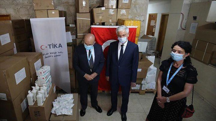 """تيكا تقدم مساعدات طبية لمستشفى """"المطلع"""" بالقدس"""