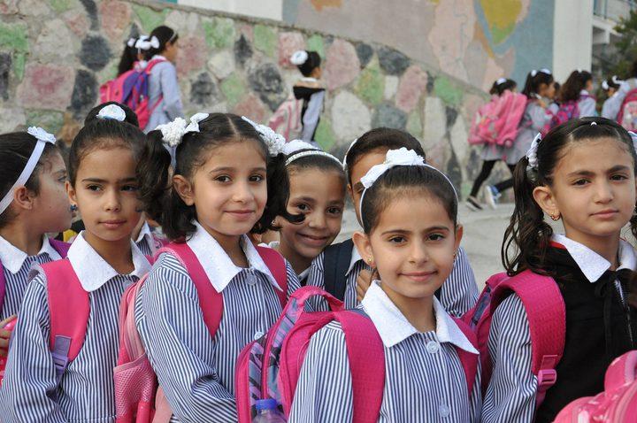 غزة: بدء دوام الطلبة للعام الدراسي الجديد 8 أغسطس