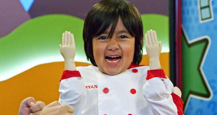 طفل يحصد 26 مليون دولار من تطبيق يوتيوب