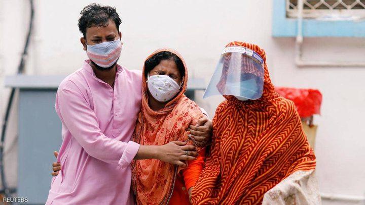 الهند تتخطى المليون إصابة بكورونا