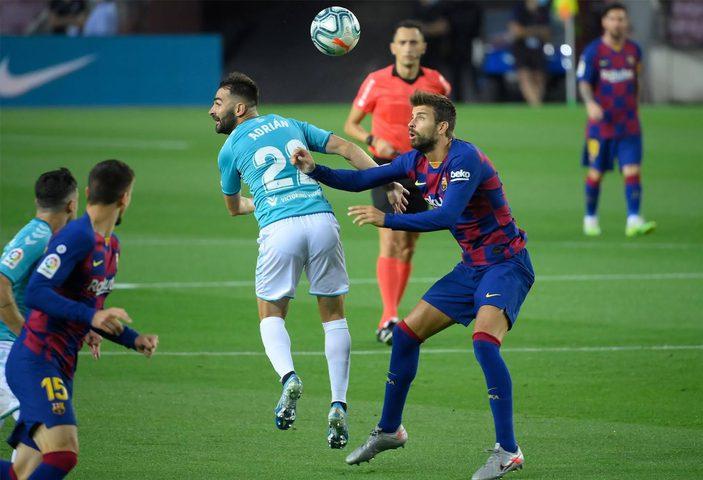 شاهد أهداف مباراة برشلونة وأوساسونا في الدوري الاسباني