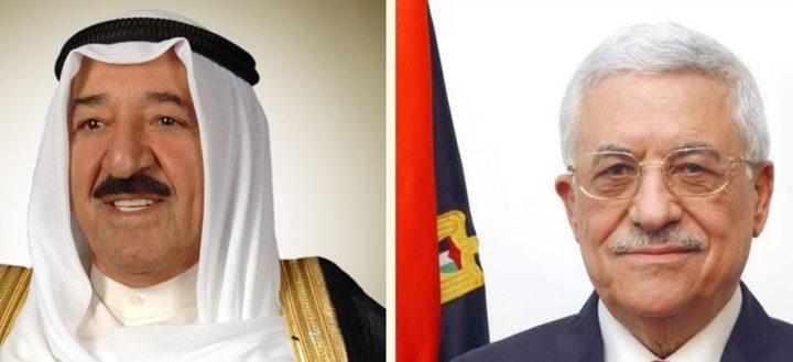 الرئيس يطمئن على أمير الكويت الذي يجري فحوصات طبية