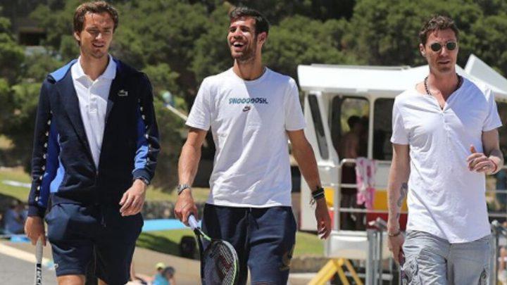 سر النجاح لثلاثي التنس الروسي