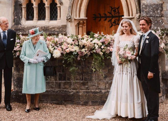 زواج الأميرة بياتريس حفيدة الملكة إليزابيث في مراسم خاصة