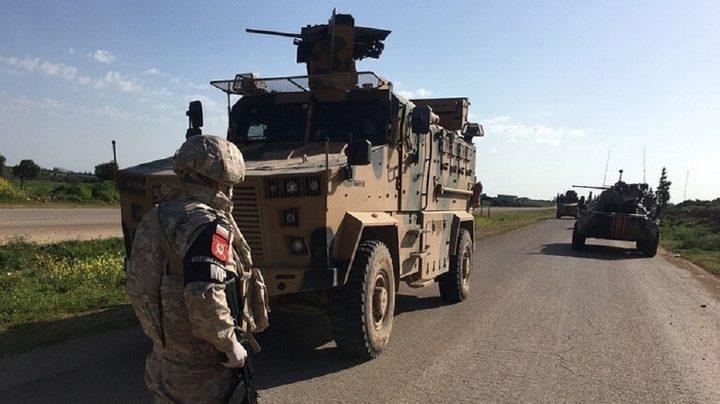 دورية روسية تركية مشتركة في شمال شرق سوريا