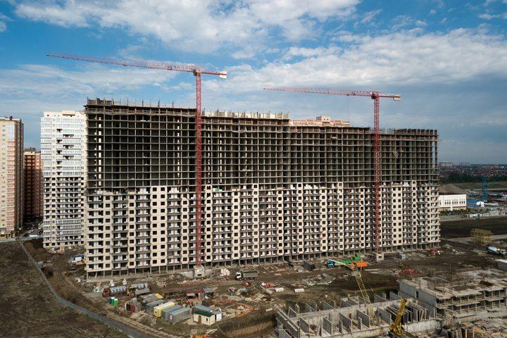 روسيا تتصدر الدول الأوروبية من حيث السكن الجديد