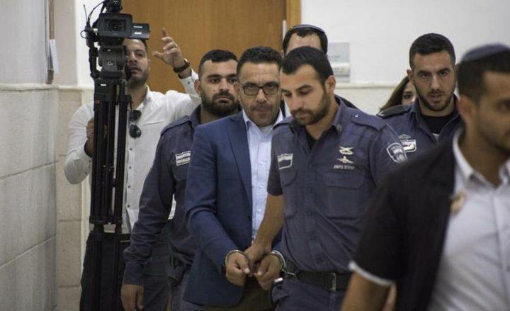 تمديداعتقال محافظ القدس سبعة أيام