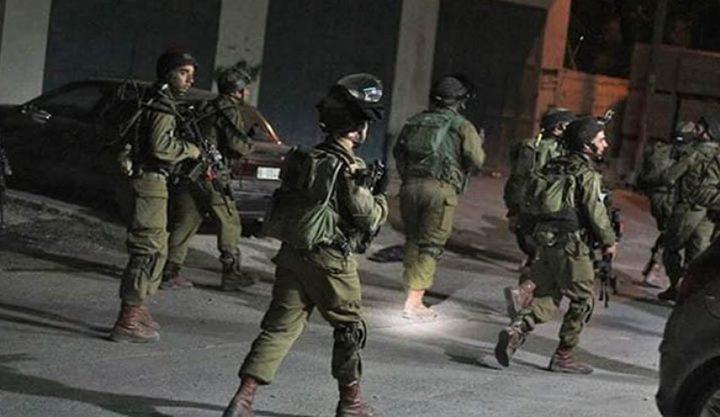 الاحتلال يشن حملة اعتقالات في الضفة طالت 9 مواطنيين