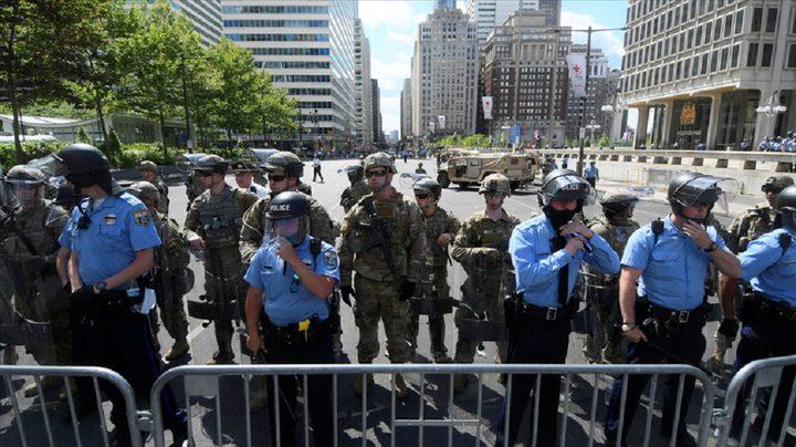 مقتل شخص واصابة 8 اخرين في هجوم على حشد في واشنطن