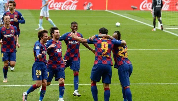 برشلونة يتلقى نبأ سعيدًا قبل مواجهة نابولي