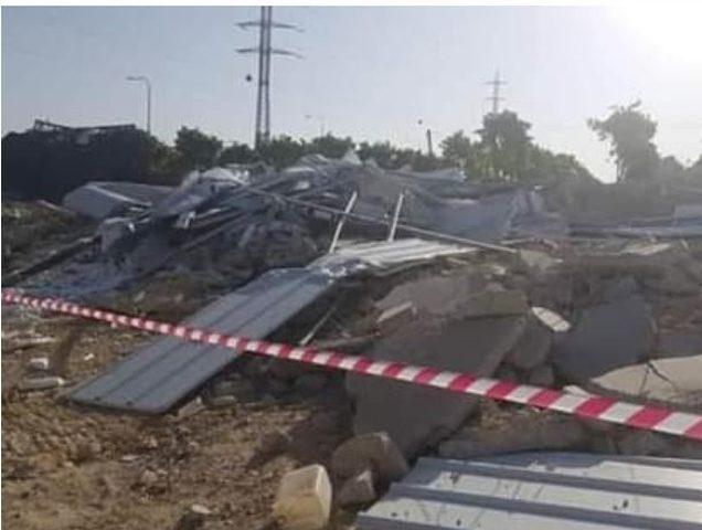 """الاحتلال يهدم مبنى مركز """"كوفيد 19"""" في الخليل"""