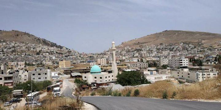 محافظ نابلس يقرر اغلاق بلاطة البلد شرق نابلس