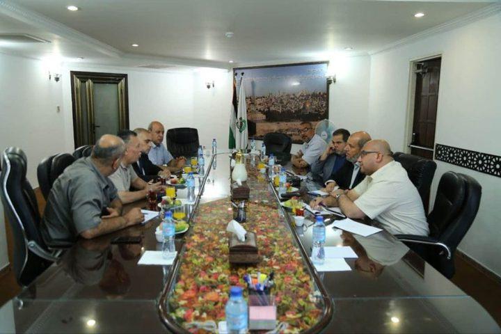 غزة: اجتماع بين فتح وحماس لبحث تنظيم عقد المهرجان الوطني ضد الضم