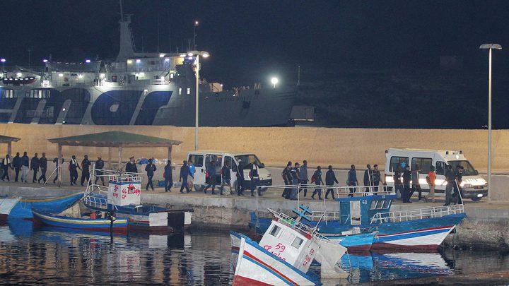 80 مهاجرا تونسيا يصلون إلى جزيرة لامبيدوزا الإيطالية