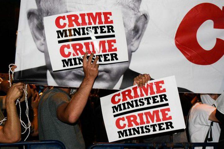 استمرار الاحتجاجات ضد فشل نتنياهو في إدارة أزمة كورونا