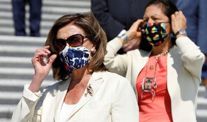 أمريكا: بيلوسي تتهم ترامب بخلق ازمة في البلاد بسبب كورونا