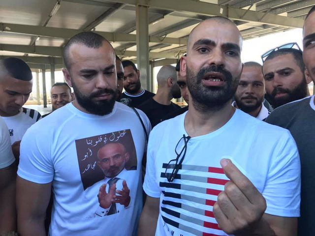 الافراج عن الأسير يوسف بزمان من جنين بعد 15 عاما من الاعتقال