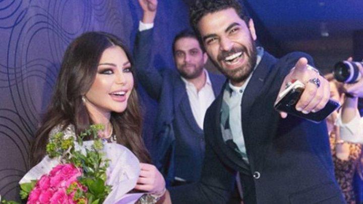 هيفاء وهبي تنتصر على محمد وزيري في أول مواجهة بينهما