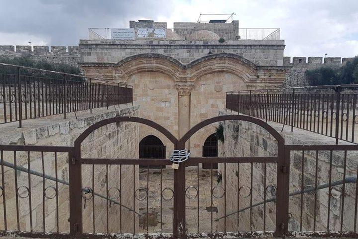 """""""الافتاء الفلسطيني"""" يحذر الاحتلال من اغلاق مصلى باب الرحمة"""