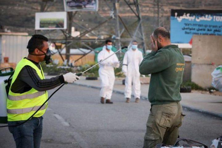 إغلاق مقر وزارة الصحة في نابلس للتعقيم