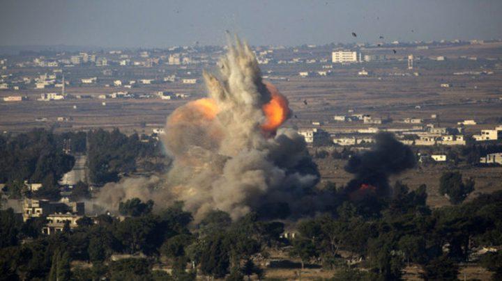 انفجارات قرب السياج الحدودي بين سوريا ودولة الاحتلال