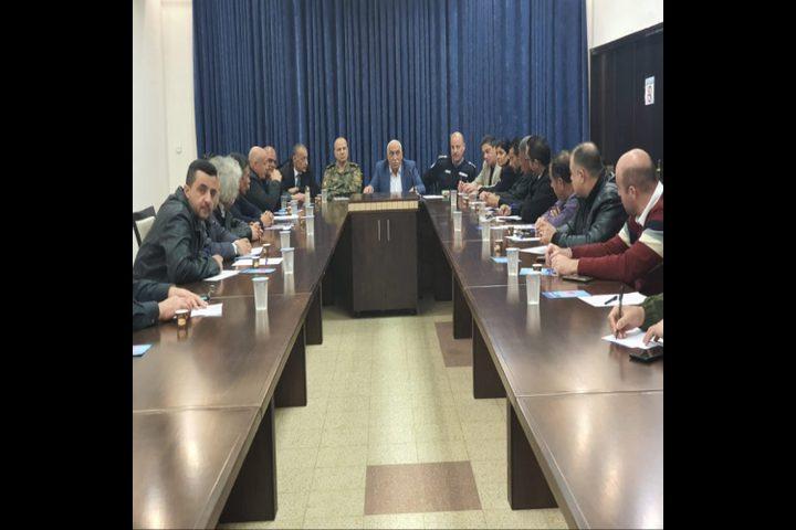 محافظ أريحا: تم محاصرة كل البؤر الوبائية والوضع تحت السيطرة