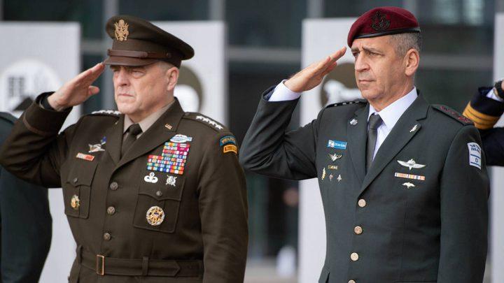 """مسؤول كبير في الجيش الأمريكي يزور """"إسرائيل"""" لبحث الشأن الإيراني"""