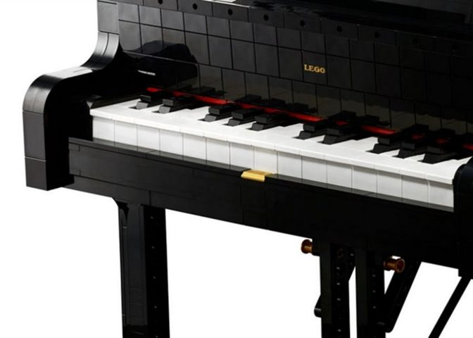 استمعوا إلى عزف أول بيانو مكون من قطع الليغو !