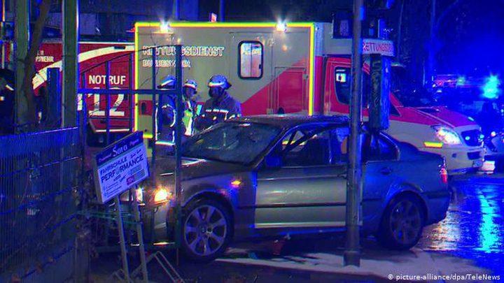 7 مصابين على الأقل جراء دهس سيارة لحشد من المواطنين في برلين