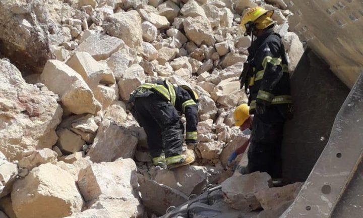 مصرع عامل سبعيني بانهيار صخري في كسارة قرب القدس
