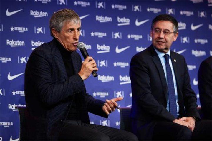 بارتوميو:سيتين لديه فكرة واضحة عن نموذج لعب وأسلوب برشلونة