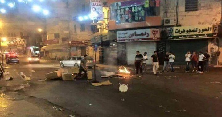 إستقالة جماعية إحتجاجاً على أحداث بلاطة البلد شرق نابلس