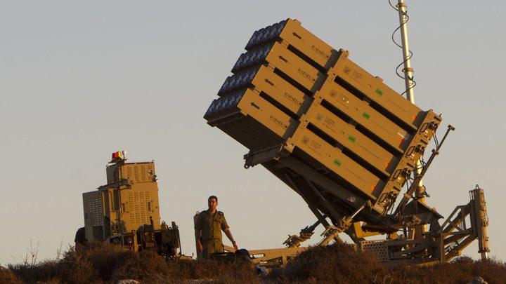 قوات الإحتلال تنشر القبة الحديدية على الحدود الفلسطينية مع لبنان