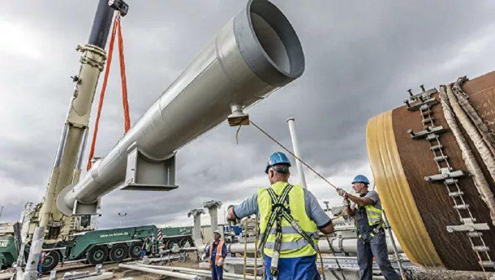"""أمريكا تعرقل مد أنابيب مشروع الغاز الروسي """"السيل الشمالي 2"""""""