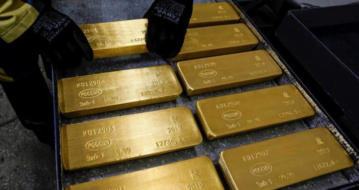 الذهب يبلغ مستوى تاريخيا في ظل هبوط الدولار