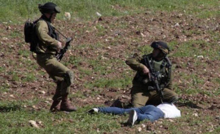 إصابة مواطن أثناء مطاردته من قبل الاحتلال غرب جنين