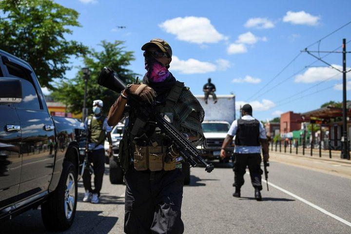 إصابة نحو60 شرطيا خلال احتجاجات بمدينة سياتل الأمريكية