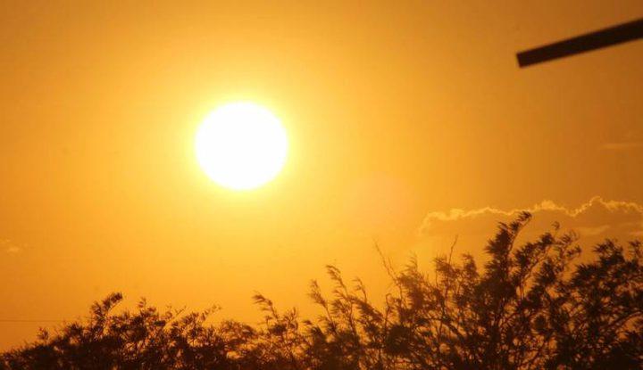 الطقس: أجواء شديدة الحرارة وجافة