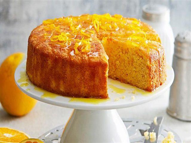 طريقة تحضير كيك البرتقال