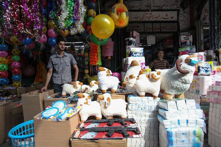 أسواق غزة تشهد ركوداً غير مسبوق عشية عيد الأضحى