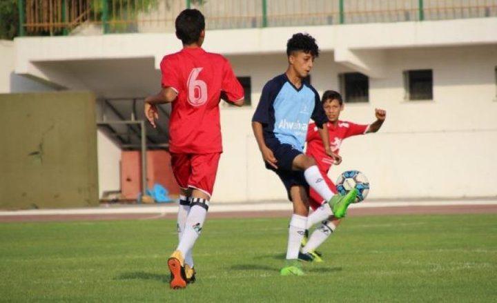 تواصل لقاءات بطولة الأكاديميات الأولى لكرة القدم بغزة