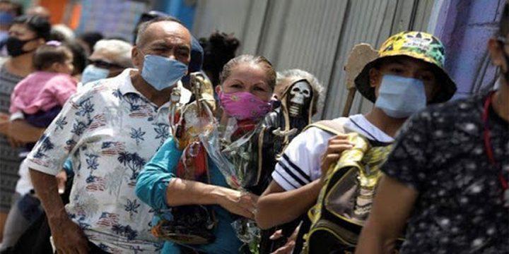 المكسيك: 4973 إصابة و342 وفاة جديدة بفيروس كورونا